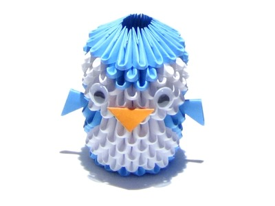 How To Make a 3D Origami Penguin