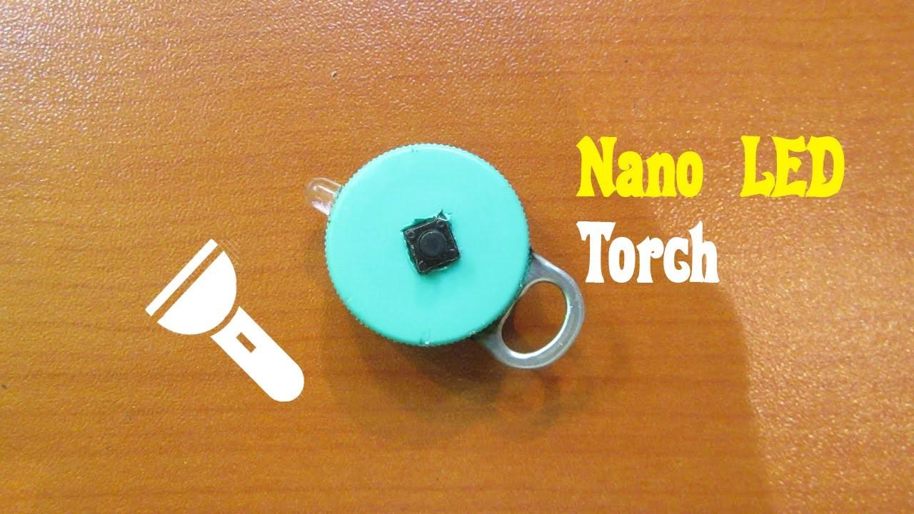 How to Make a Nano LED Torch - Easy Tutorials