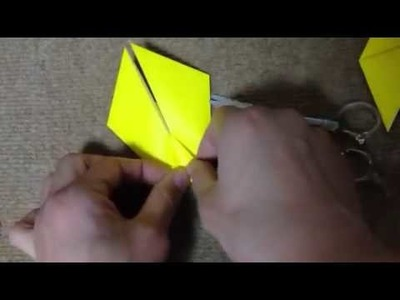 How to make a origami Easy giraffe