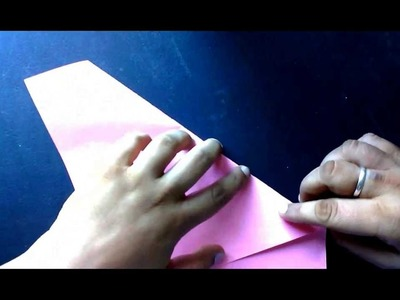 HOW TO MAKE A PERPENDICULAR LINE - MATHEMATICS AND ORIGAMI - VIDEO 1