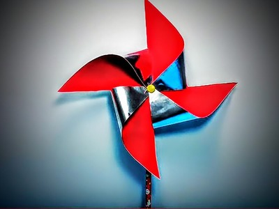 How to Make an Easy Homemade Pinwheel that SPINS!