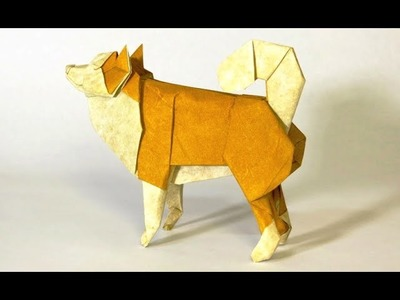 How to make an Origami Sheepdog