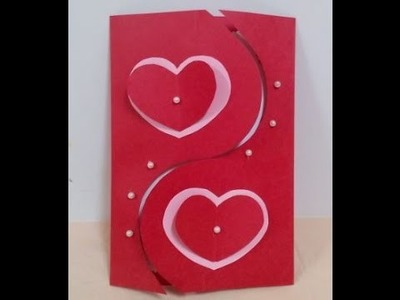 How to Make Handmade Valentine's Card - DIY + Tutorial .