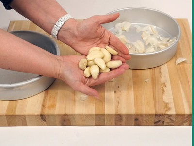 How to Peel a Head of Garlic in Under a Minute