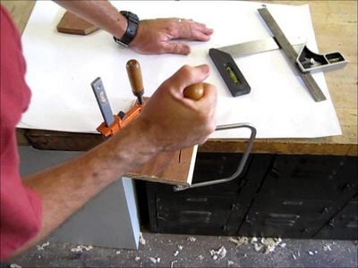 How to use the Coping Saw