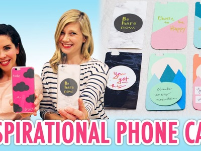Inspirational DIY Phone Cases with Meg & Marianne - HGTV Handmade