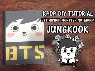 KPOP D.I.Y: BTS HIPHOP MONSTER Notebook - Jungkook