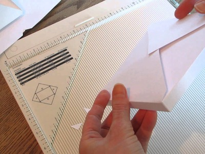 Make your own envelopes with the Martha Stewart Scoreboard.