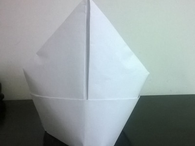 Making different caps (rain cap, mitre cap, Indian cap, square, graduation) : Origami 13