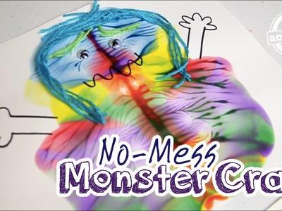 No Mess Monster Craft