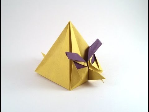 Origami angry bird by Ryan Dong