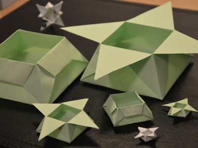 Origami: How to Make a Star Box
