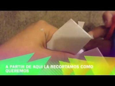 Origami: Mantel de papel. FACIL