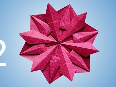 Origami Snowflake (Dáša Ševerová) part 2