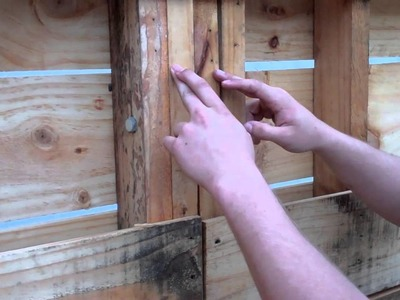 Pallet Shed - Walls Part 1