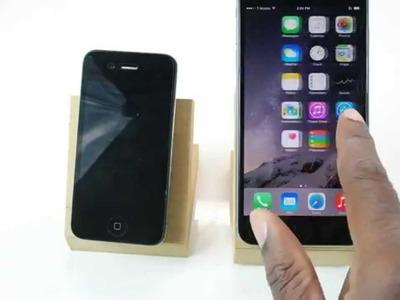 Simple iPhone 6.6 Plus DIY Dock.Stand
