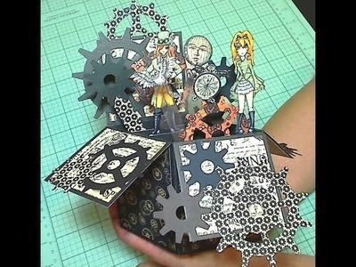 Steampunk Card-In-A-Box Tutorial