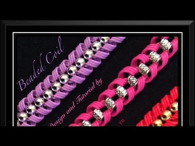 Strand Band Beaded Coil Bracelet Tutorial.How To