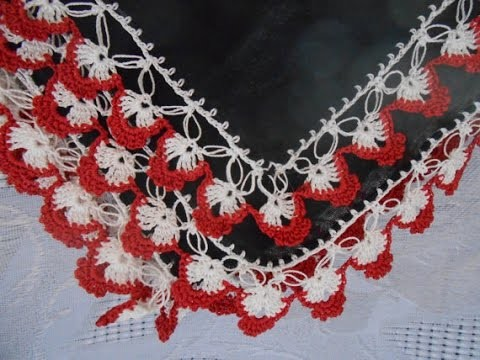 Turkish Crochet Oya Lace Scarves