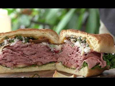 Ultimate Roast Beef Sandwich on the PK Grill!