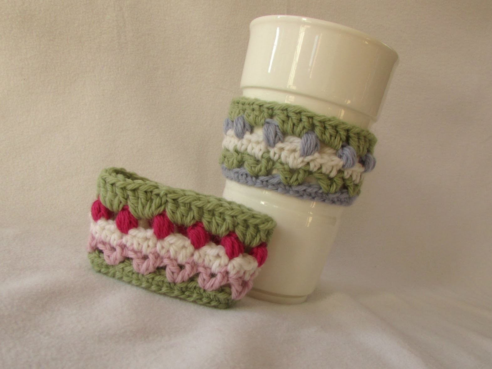 VERY EASY cute crochet mug. cup cozy tutorial