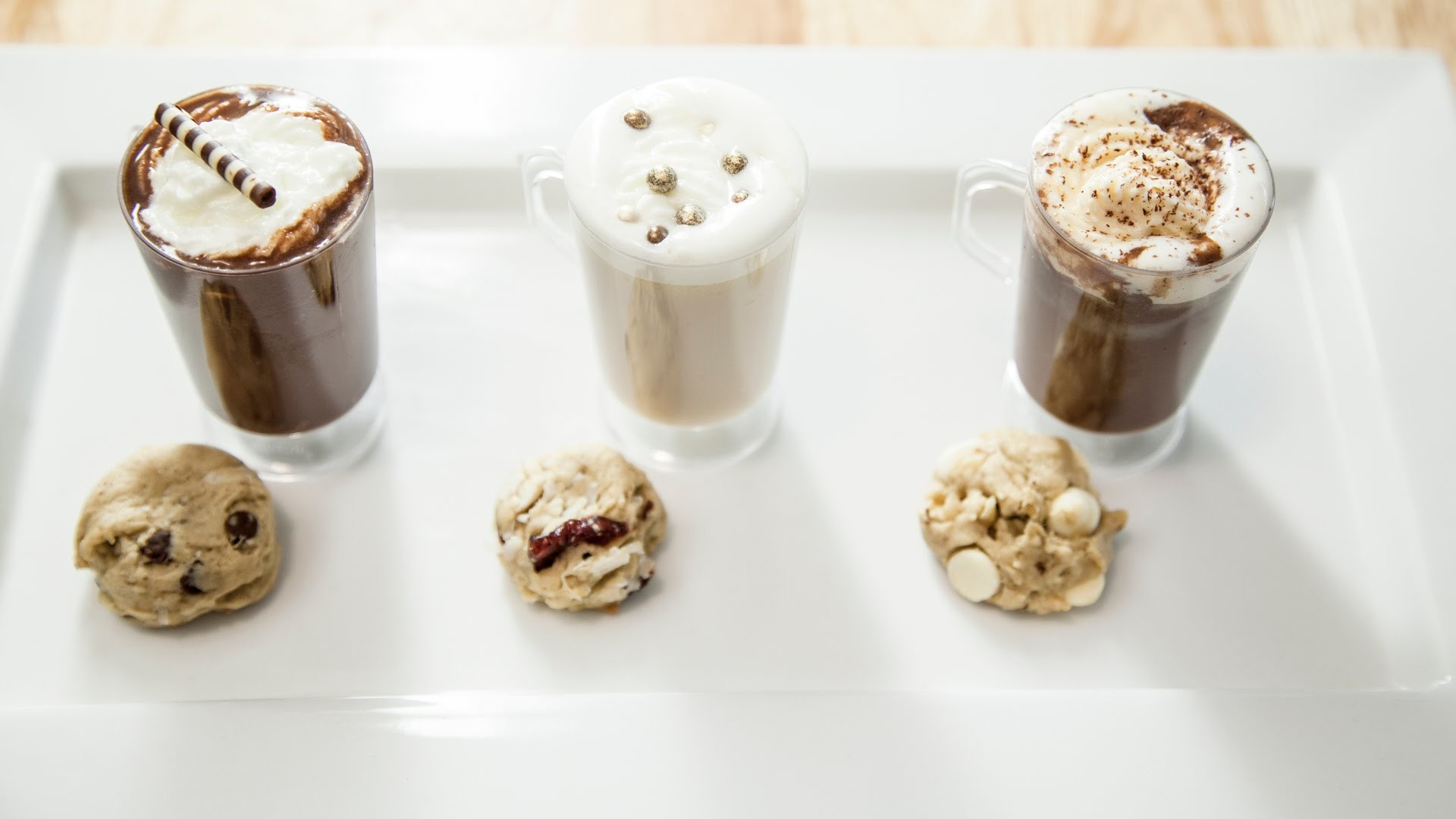 3 MINI COOKIES & HOT COCOA FLAVORS!
