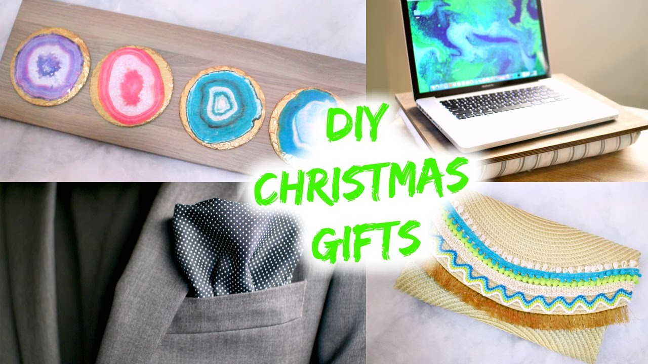 4 Cheap & Easy DIY Christmas Gifts you HAVE to see!