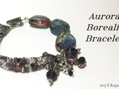 Aurora Borealis Bracelet Tutorial