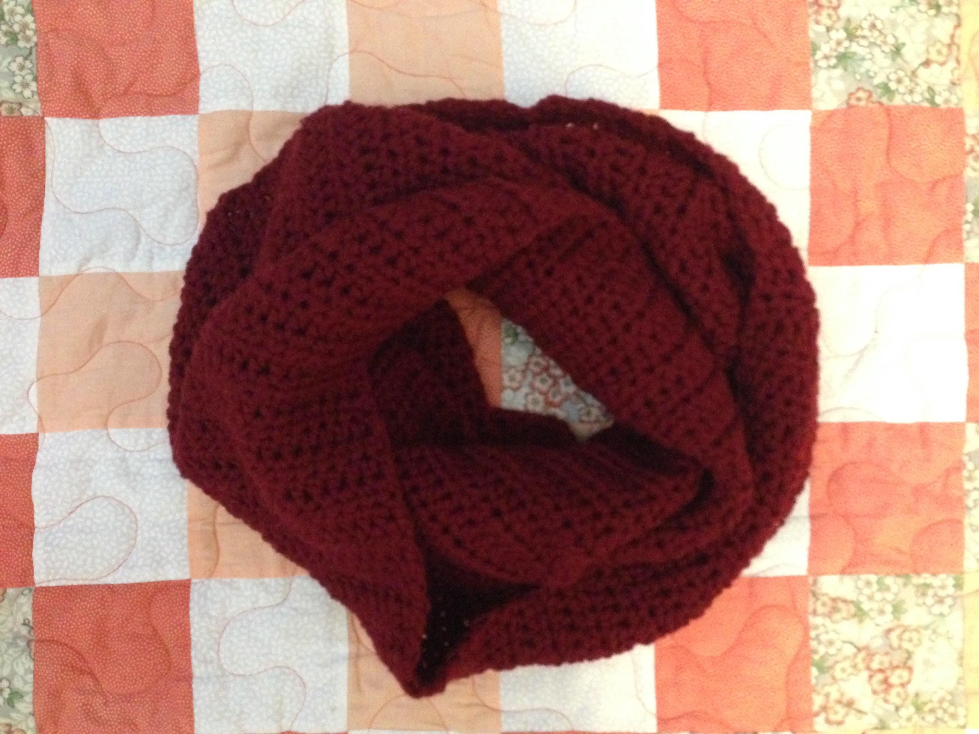 Beginner Crochet Scarf
