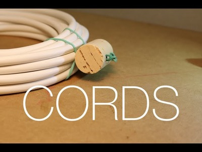 ⇒ Best DIY Way to Store Your Cords