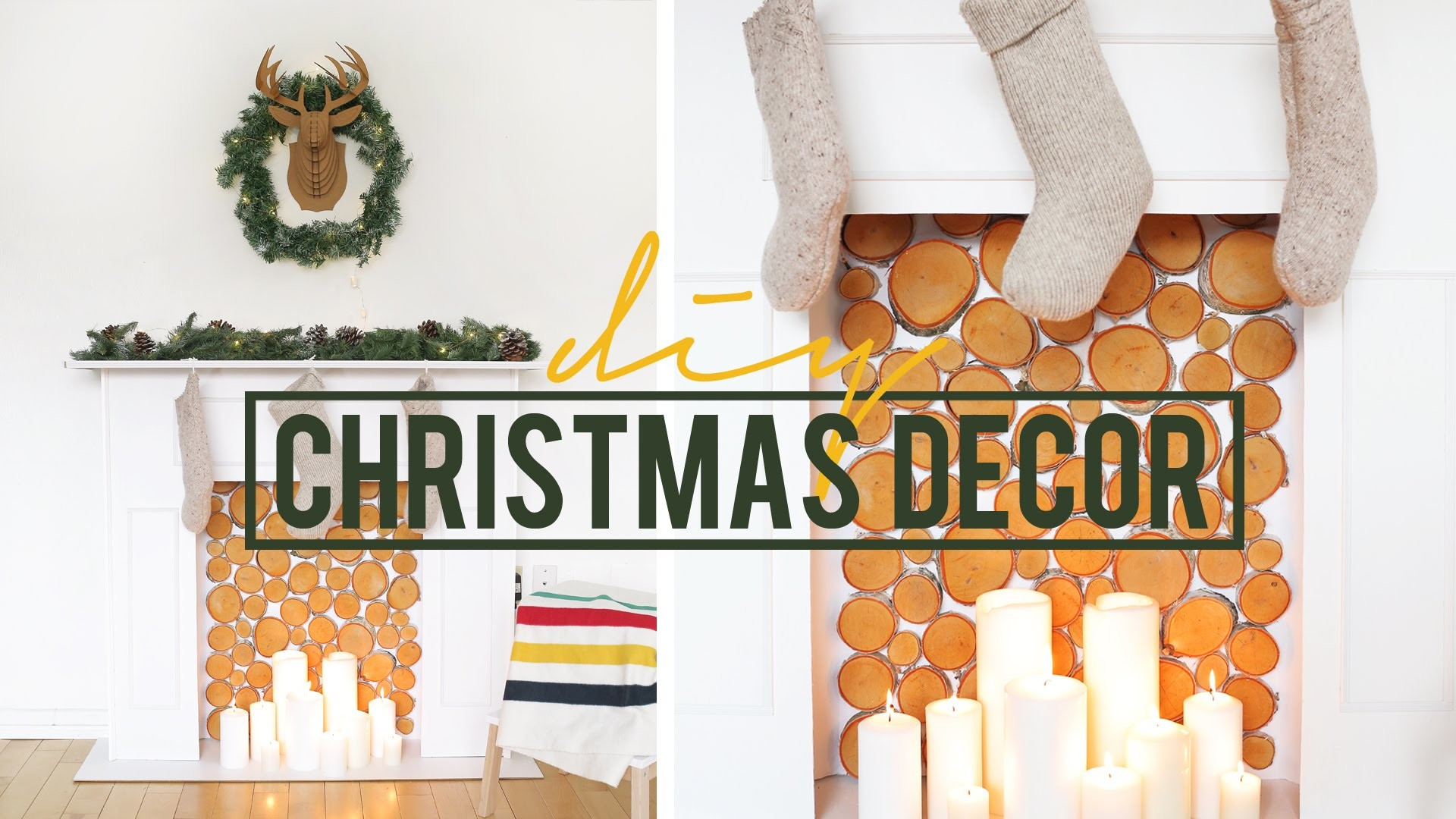 DIY CHRISTMAS MANTEL DECOR | THE SORRY GIRLS