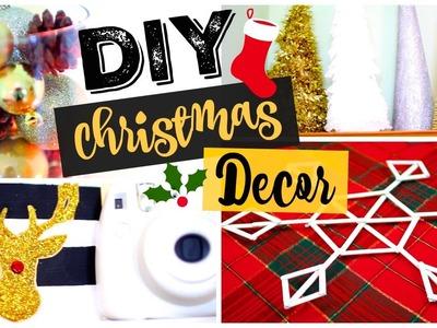 DIY Christmas Room Decor 2015! Quick, Easy + Affordable