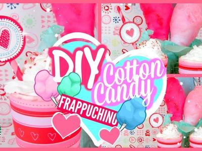 DIY Cotton Candy Frappuchino