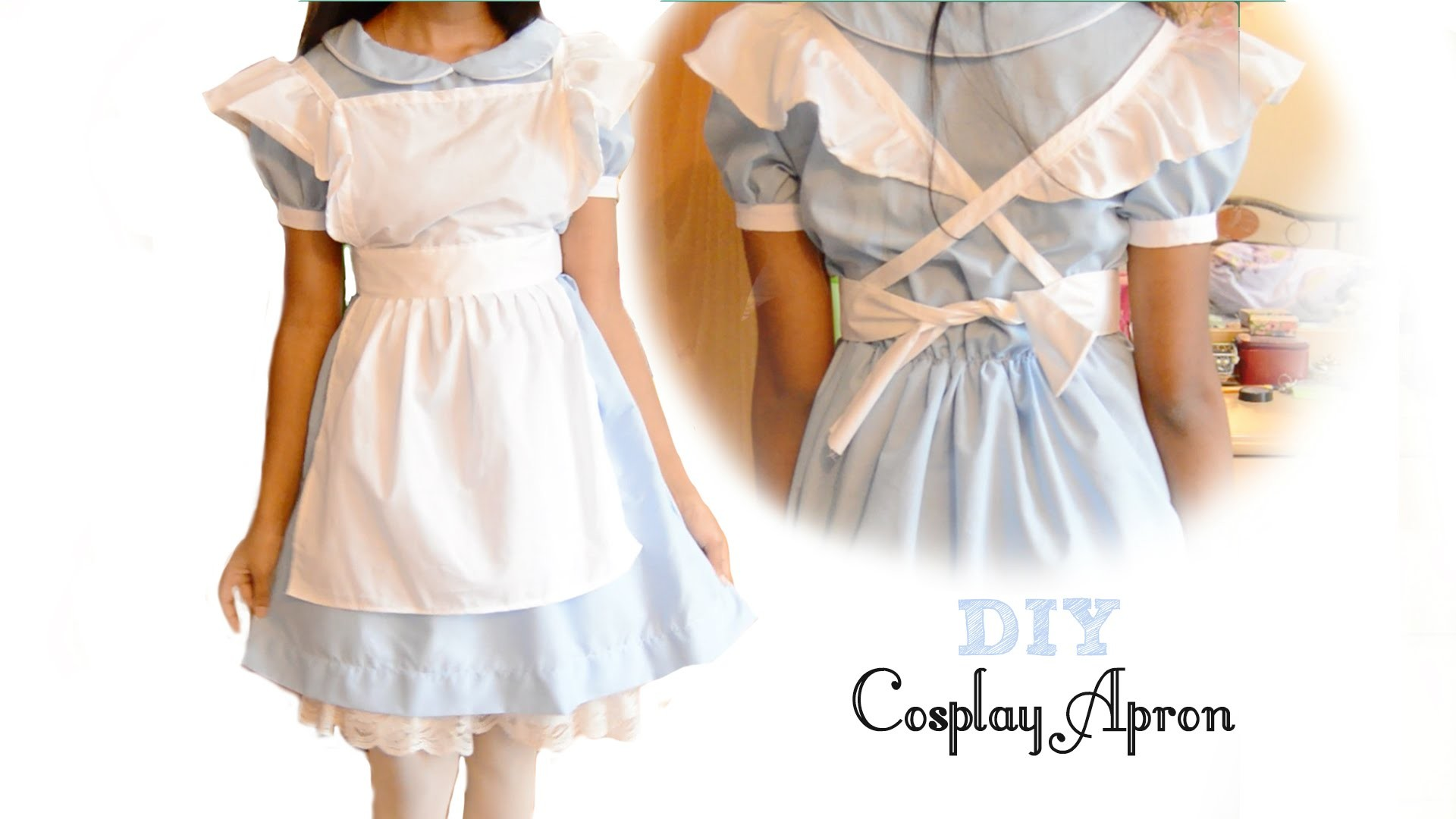 DIY Cute Cosplay Apron