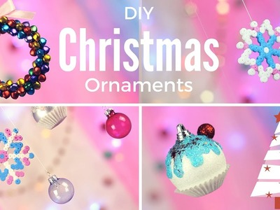 DIY: Cute & Easy Christmas Ornaments
