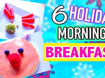 DIY Easy Cute Holiday Treats - Morning breakfast ideas Last Minute for Christmas 2015