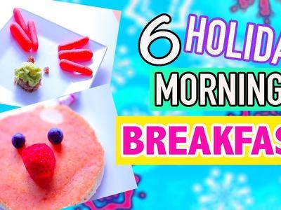 DIY Easy Cute Holiday Treats - Morning breakfast ideas Last Minute for Christmas 2015