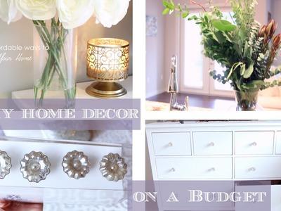 DIY Home + Room Decor Ideas on a Budget   #DIYDecember DIYMAS
