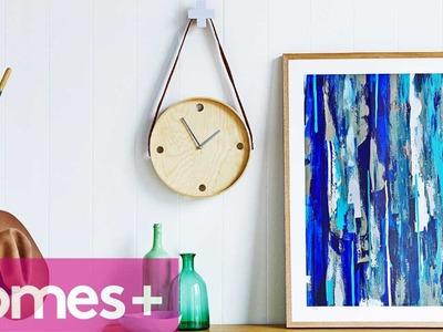 DIY IDEA: Ikea tray clock - homes+