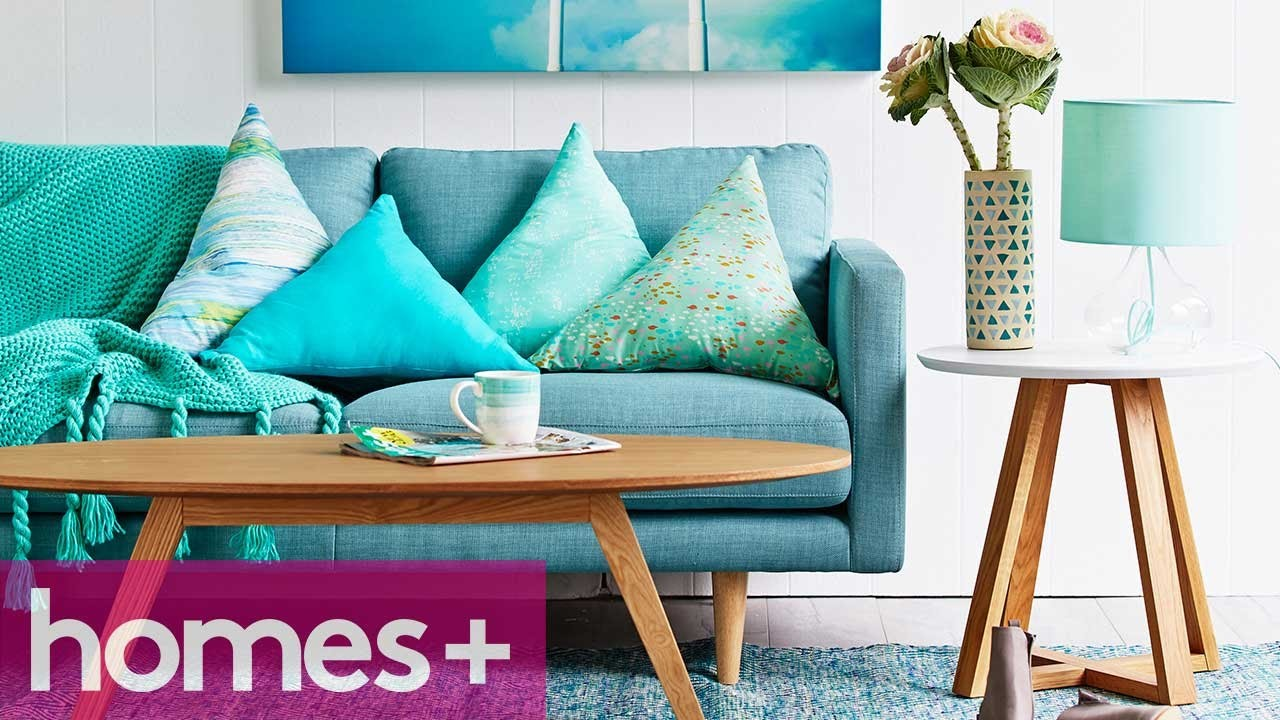 DIY IDEA: Triangle cushions - homes+