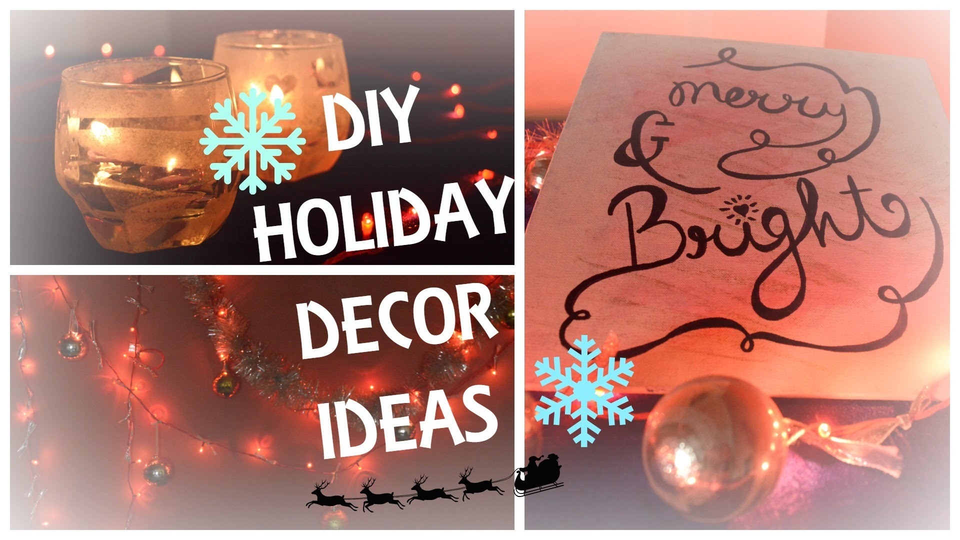 DIY New Year Decor Ideas | Last Minute Decorations | Neesome DIY