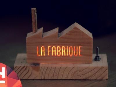 DIY Project : LED luminous factory