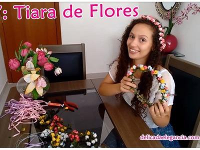 DIY: Tiara de Flor