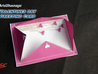 DIY Valentine's Day Greeting Card | How to make | JK Arts 846