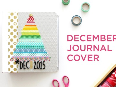 DIY Washi Tape December Daily Cover