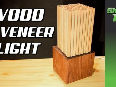 DIY Wood Veener Light