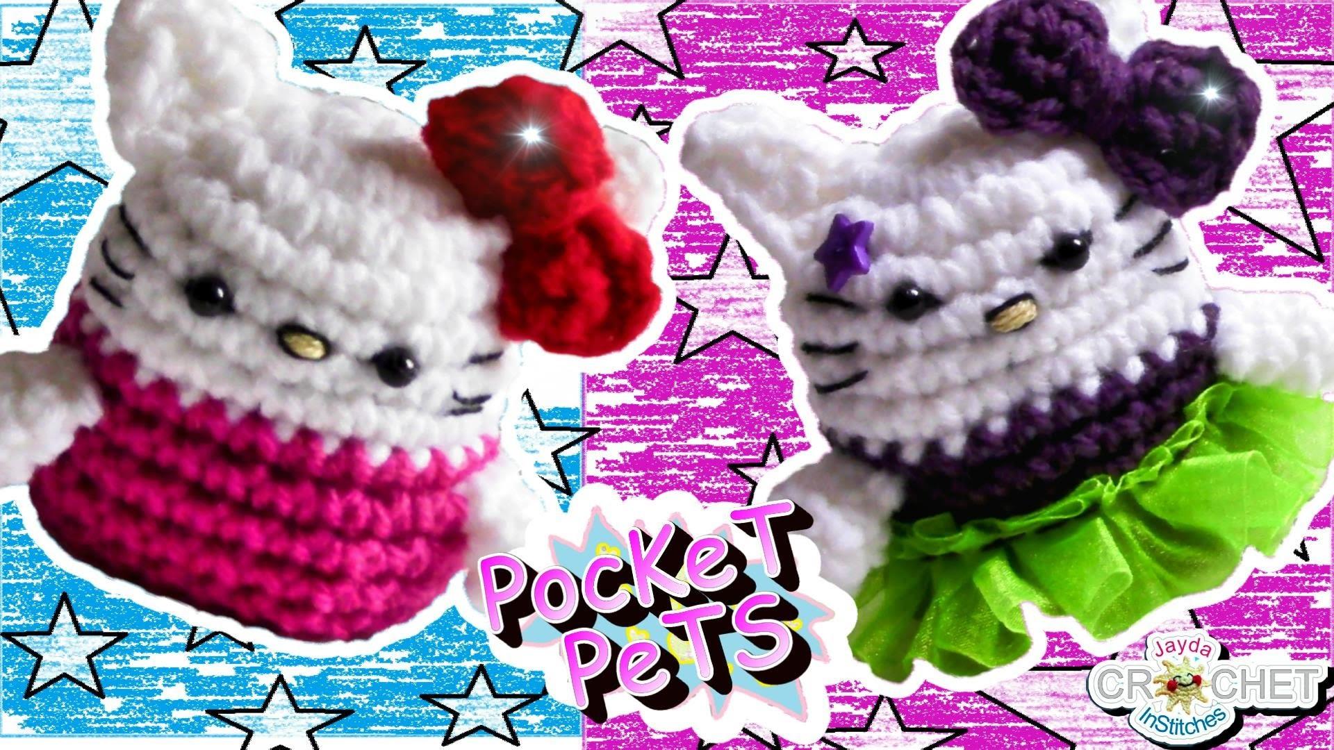 Hello Kitty - Jayda's Crochet Pocket Pets