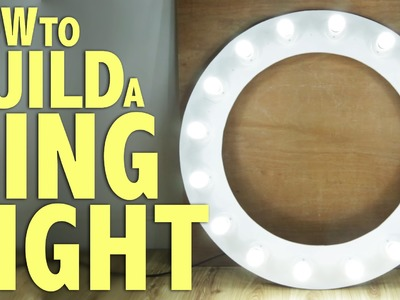 How to build a Ring Light - DIY Photography Tutorial