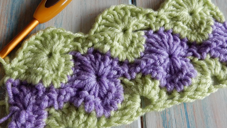 How to Crochet Catherine Wheel. StarBurst Stitch