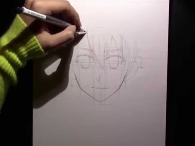 How to Draw Tatsumi from Akame Ga Kill Tutorial